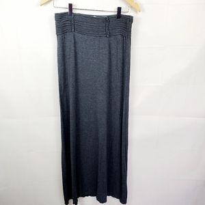 Max Studio Grey Maxi Long Skirt Size Small